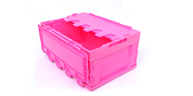 长春粉色周转箱